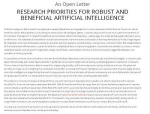 Research Priotities
